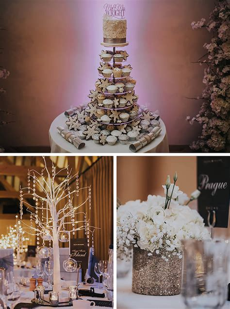 michelle and chris magical winter wedding at rivervale
