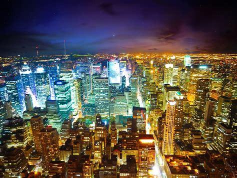 york city  night  wallpaper  wallpaperscom
