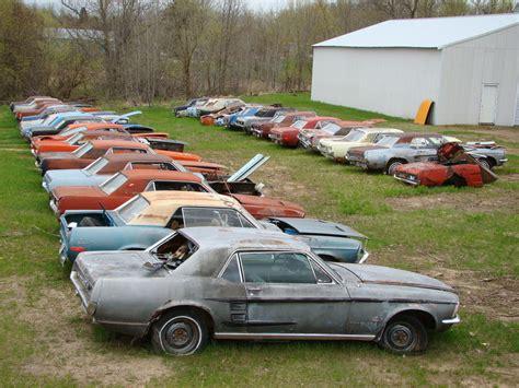 rustingmusclecarscom blog archive   mustang junk