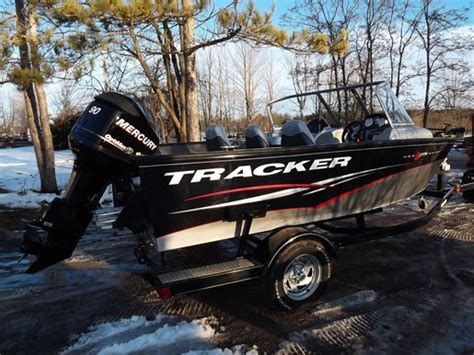 Tracker Boats Dealers Ontario by Tracker Proguide V175 Combo 2012 Used Boat For Sale In