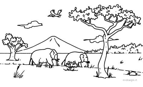 disegni da colorare animali della savana midisegni it disegni da colorare per bambini