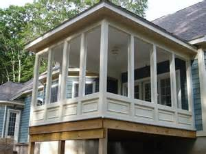 Enclosing Balcony by Screened Porch Home Sweet Home Pinterest