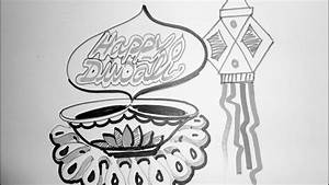 How To Draw A Diwali Picture 2015