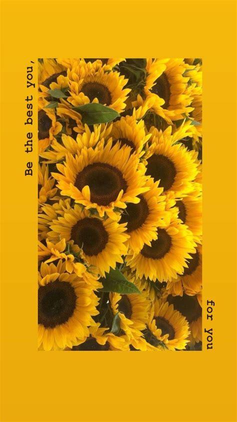 yellow flowers wallpaper aesthetic