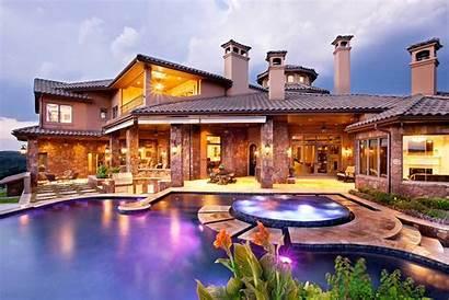 Pool Mediterranean Homes Custom Outdoor Pools Areas