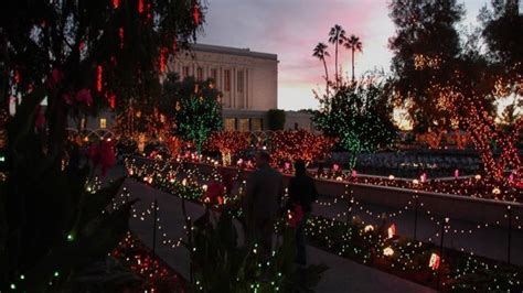 largest christmas lights displays photos mesa arizona temple lights will be one of the displays in the state photos