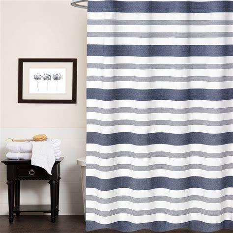 cudney nowell  cotton single shower curtain blue shower curtains gray shower curtains