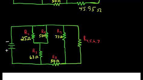 combination circuit simplification youtube