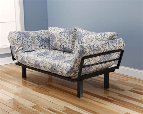 large futon spacely futon daybed lounger with mattress genoa by kodiak