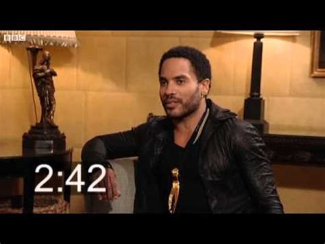 Five Minutes With Lenny Kravitz Youtube