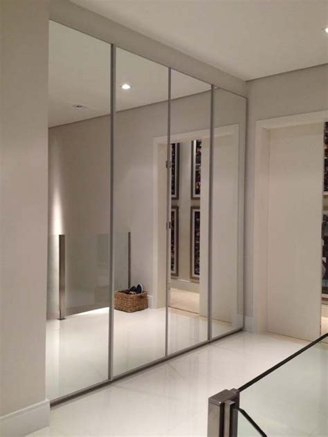 Ideas For Mirrored Closet Doors by 25 Best Ideas About Mirror Closet Doors On