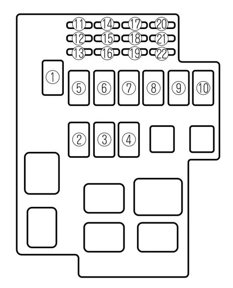 Mazda Millenia Fuse Box Diagram Auto Genius