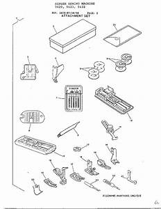 Singer Model 9420 Mechanical Sewing Machines Genuine Parts