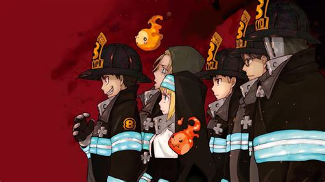fire force special fire force company  characters   wallpaper