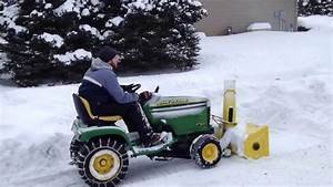 John Deere 42 U0026quot  Snow Thrower On Gt235