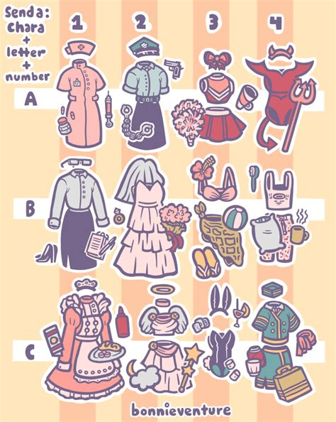 Drawing Meme - outfit prompt drawing meme by aychh on deviantart
