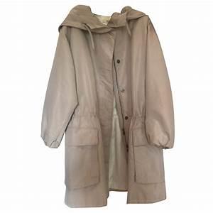 Trench Femme Avec Capuche : manteaux prada imperm able trench coat avec capuche autre beige joli closet ~ Farleysfitness.com Idées de Décoration