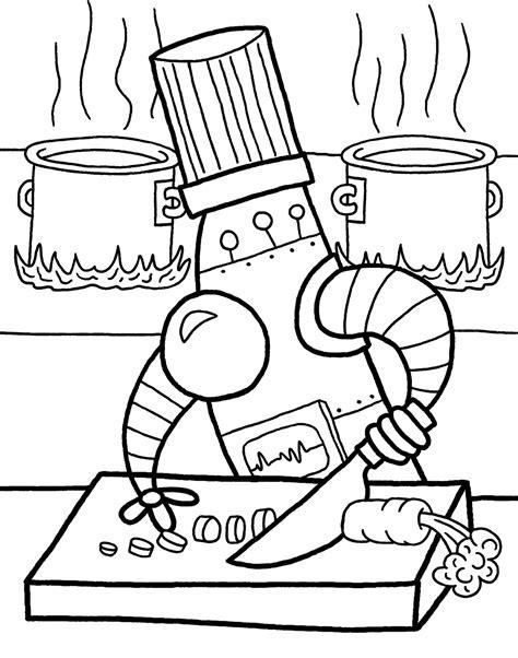 dessin de cuisine à imprimer coloriage cuisinier à imprimer sur coloriages info