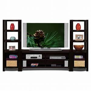 Townsend Entertainment Wall Units 3 Pc Entertainment Wall