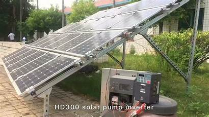 Inverter Solar Phase Grid Three Frequency Variable