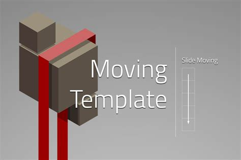 ribbon powerpoint template moving  templates