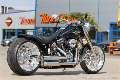 New #harley-davidson Fat Boy By #thunderbike