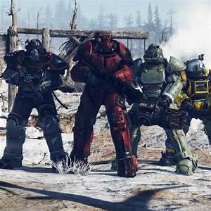 Desktop Wallpaper Fallout 76 Armour Suits E3 2018 Hd