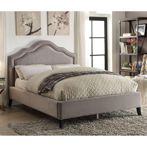 !nspire Queen Upholstered Platform Bed & Reviews Wayfair