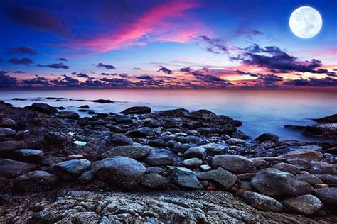 couleur cuisine moderne tableau paysage mer d ecosse izoa