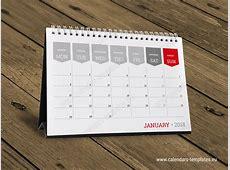 Monthly desktop calendar planner Printable table month
