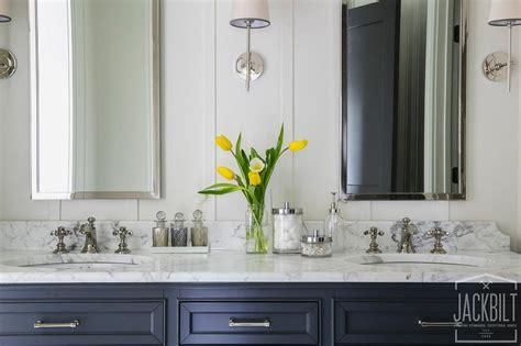 navy bathroom vanity navy dual bathroom vanity with white marble top