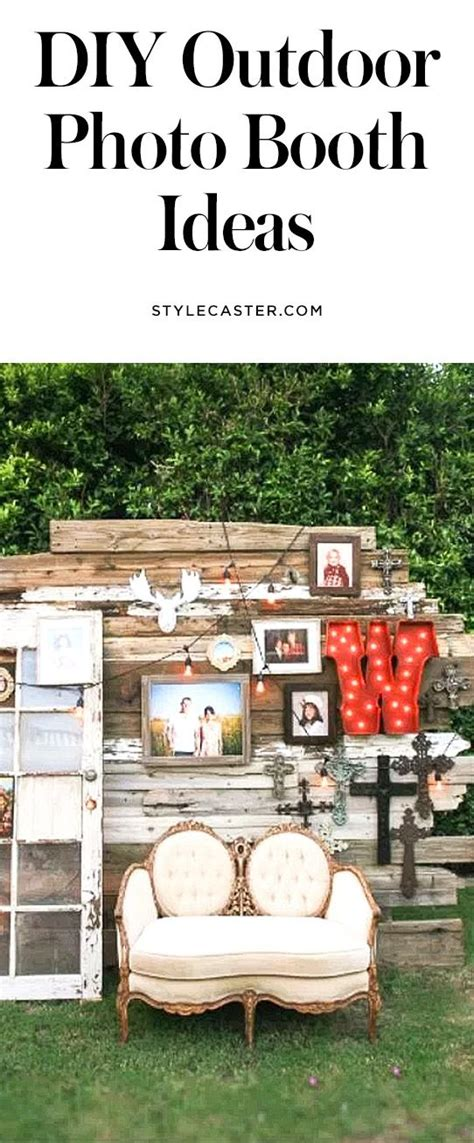 best 25 outdoor photo booths ideas on 17th