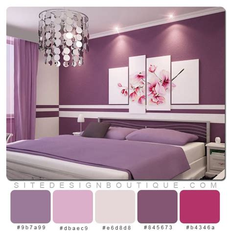 Purple Color Schemes For Bedrooms by 17 Best Images About Room Ideas On Purple