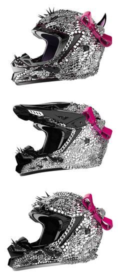 helmet designs how to bling the crap out of your helmet spikes helmets and design