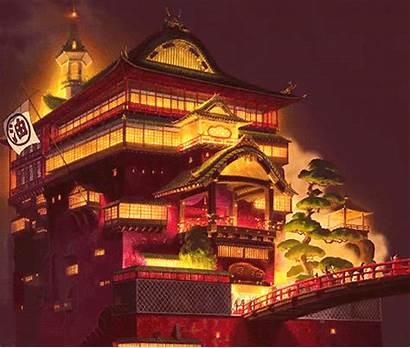 Spirited Away Taiwan Jiufen Ghibli Studio Bathhouse