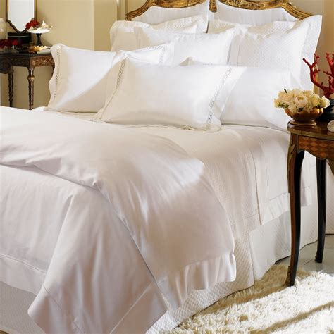 Milos By Sferra Luxury Bed Linens Queen Set  World's Best