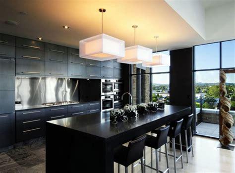 and modern black kitchen designs