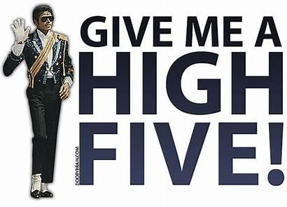 Five Give Clipart Michael Jackson Dork Clip