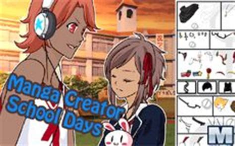 manga creator school days minigamerscom