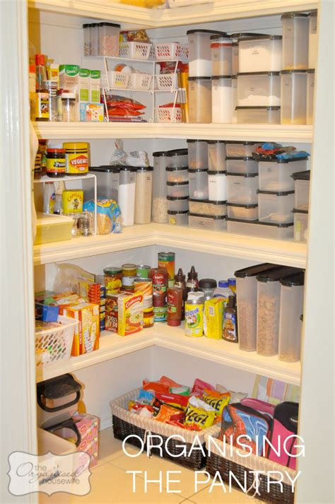 How To Organise A Pantry Cupboard by Storage Ideas For Your Home The Organised