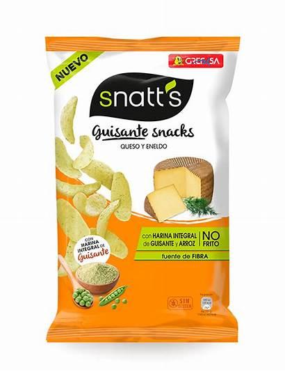 Guisante Snatts Grefusa Snacks Snack Queso Snatt