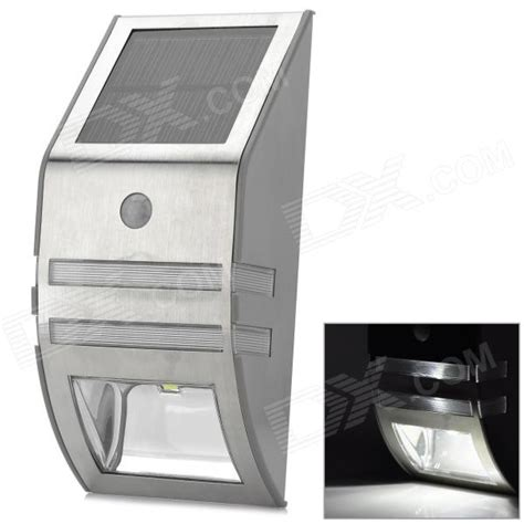 outdoor wall mounted solar motion sensor led white l