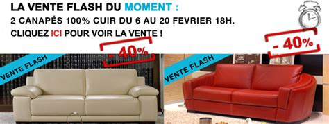 vente flash canape canapé vente flash canapé
