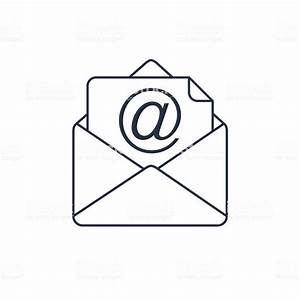 Mail Vector Icon Email Icon Envelope Illustration Address