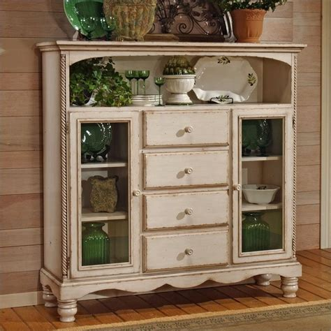white buffet cabinet hillsdale wilshire antique white buffet cabinet 4508 854
