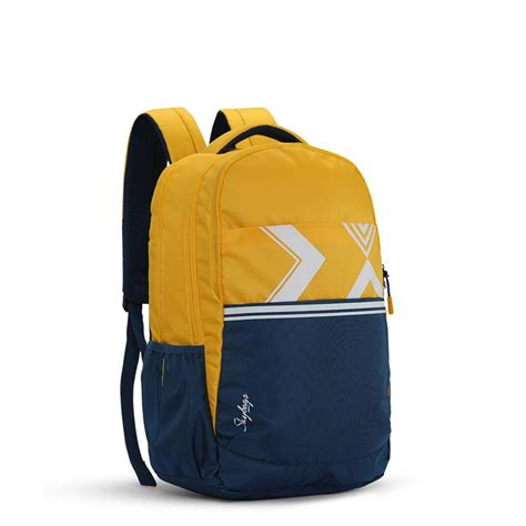 skybags komet  yellow school bag