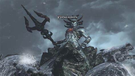 Ps4 God Of War 3 Remaster Poseidon Boss Battle