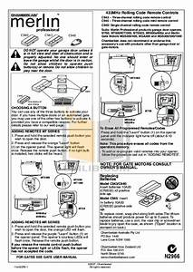 Download Free Pdf For Chamberlain 1000e Garage Door