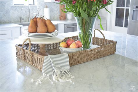 kitchen island with baskets 3 simple tips for styling your kitchen island zdesign at 5199