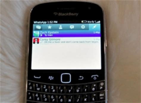 whatsapp para blackberry ganha novo design not 237 cias techtudo